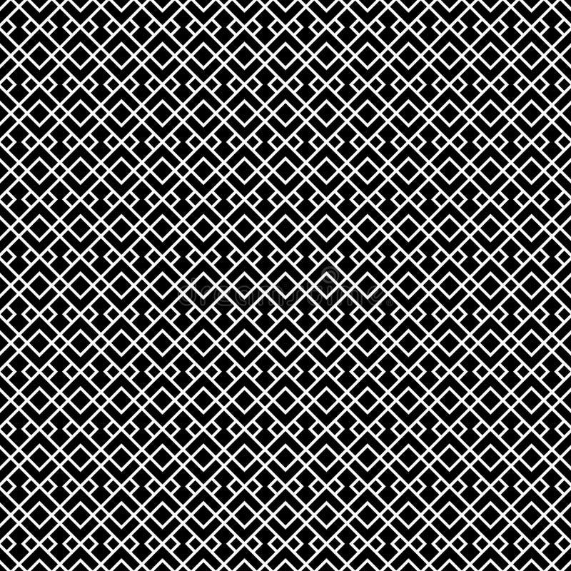 Dekoracyjny Bezszwowy Geometryczny wektoru wzoru tło ilustracji