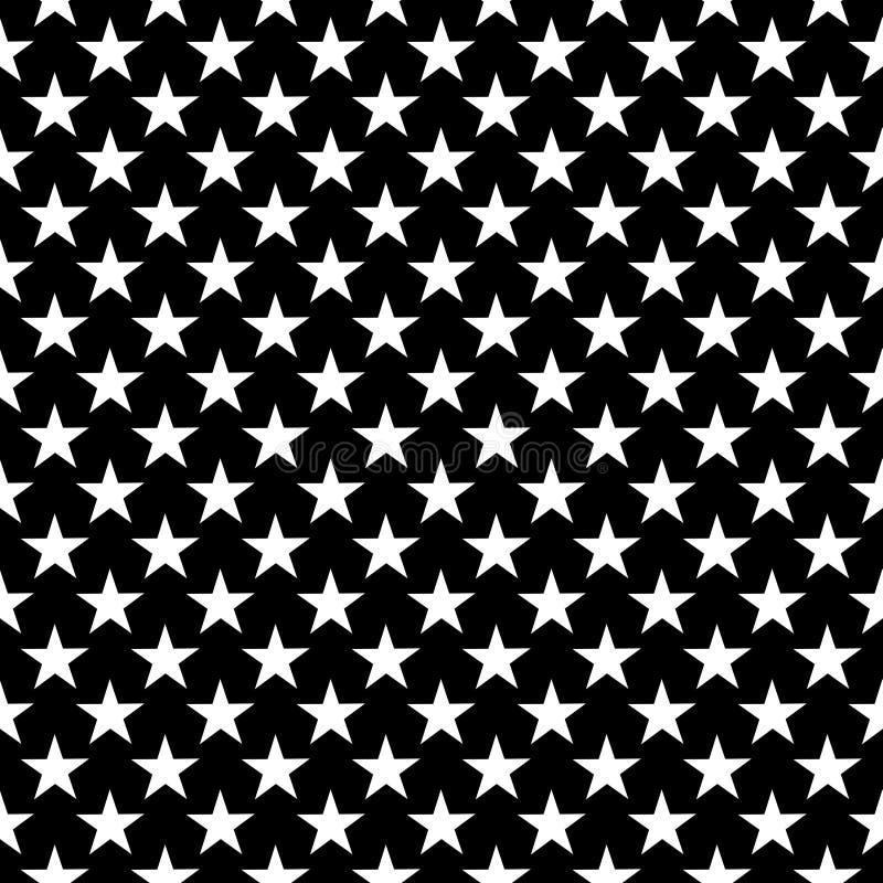 Dekoracyjny Bezszwowy Kwiecisty diagonalny Geometryczny Czarny & Biały Deseniowy tło Skomplikowany, materiał royalty ilustracja
