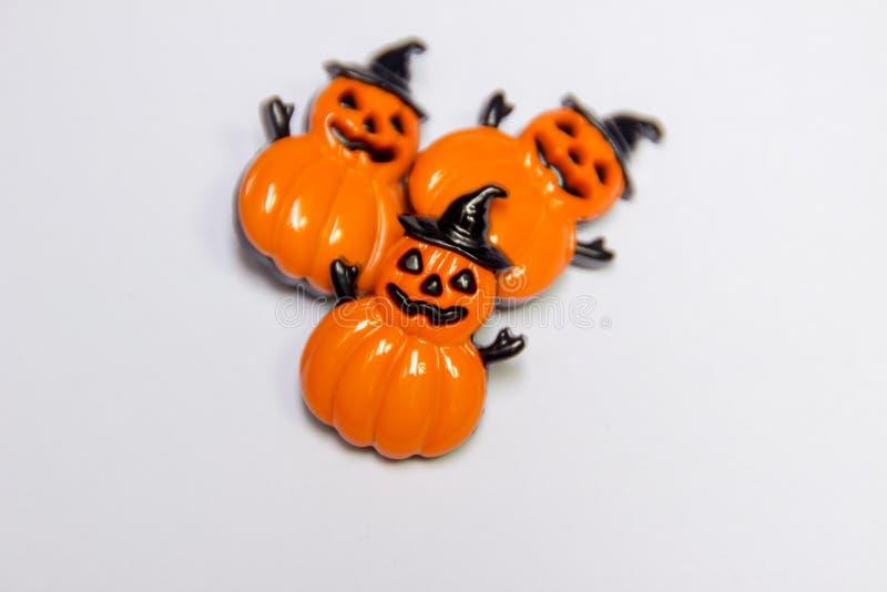 Dekoracyjny guzik Halloween zdjęcie stock