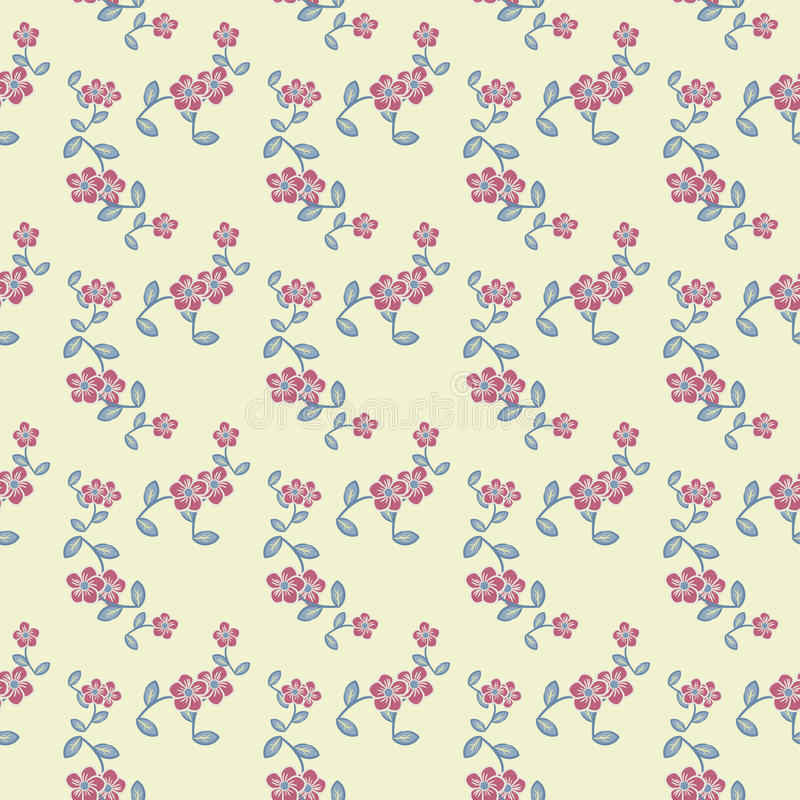 Dekoracyjny Kwiatu Wzór Fotografia Stock