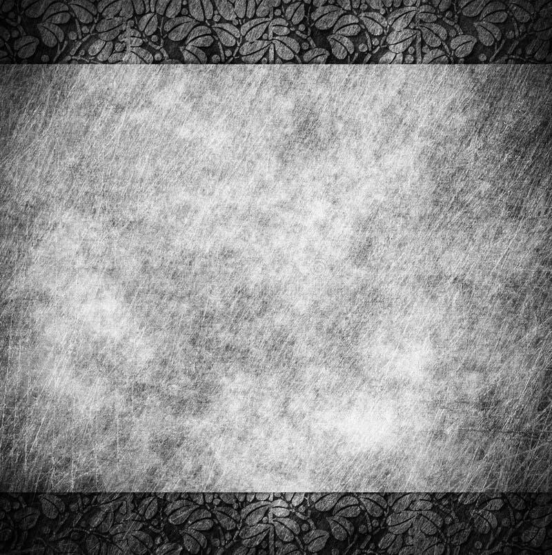 Dekoracyjny kwiecisty rocznika papier fotografia stock