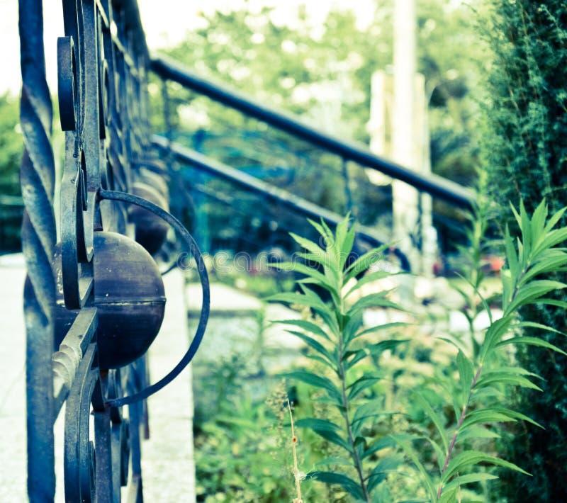Dekoracyjny ogrodzenie zdjęcia royalty free