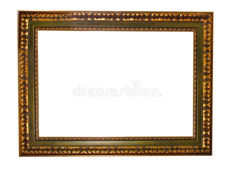 dekoracyjny pusty ramowy złota wzoru obrazek zdjęcia royalty free