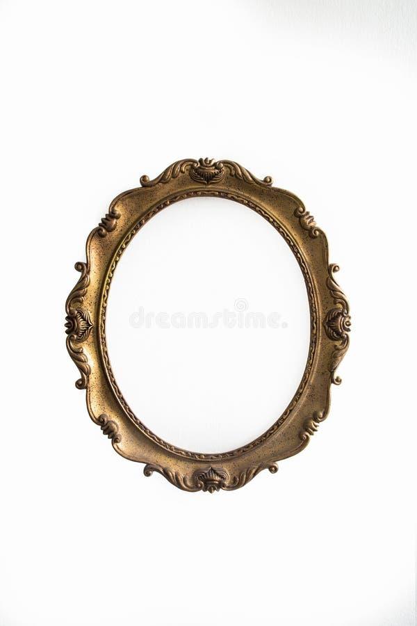 dekoracyjny ramowy złota wzoru obrazek zdjęcia royalty free