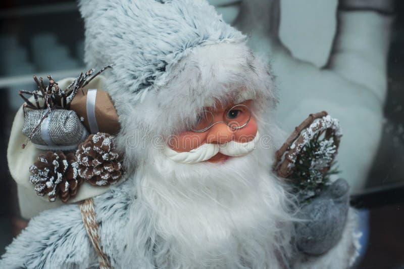 Dekoracyjny Santa Claus dla bożego narodzenia wydarzenia fotografia royalty free