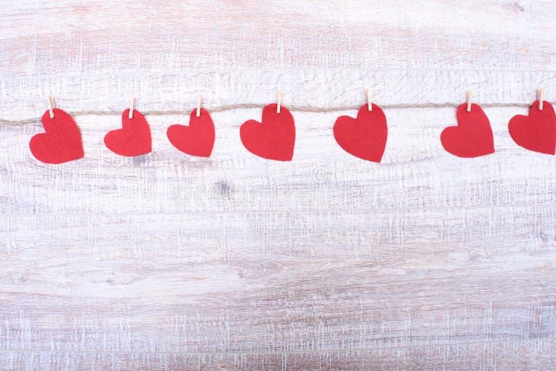 Dekoracyjny serce Czuł dla projekta walentynka dzień obrazy royalty free