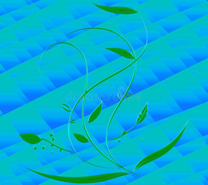 Dekoracyjny swirly zmi?ty papier 3D skutki Goldtone elegancki papier Dobry dla kartek z pozdrowieniami & zaprosze? Luksusowy ?wi? ilustracji