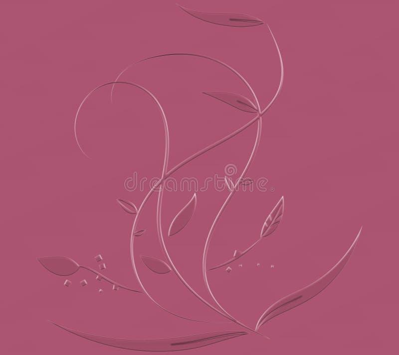 Dekoracyjny swirly zmi?ty papier 3D skutki Goldtone elegancki papier Dobry dla kartek z pozdrowieniami & zaprosze? Luksusowy ?wi? ilustracja wektor
