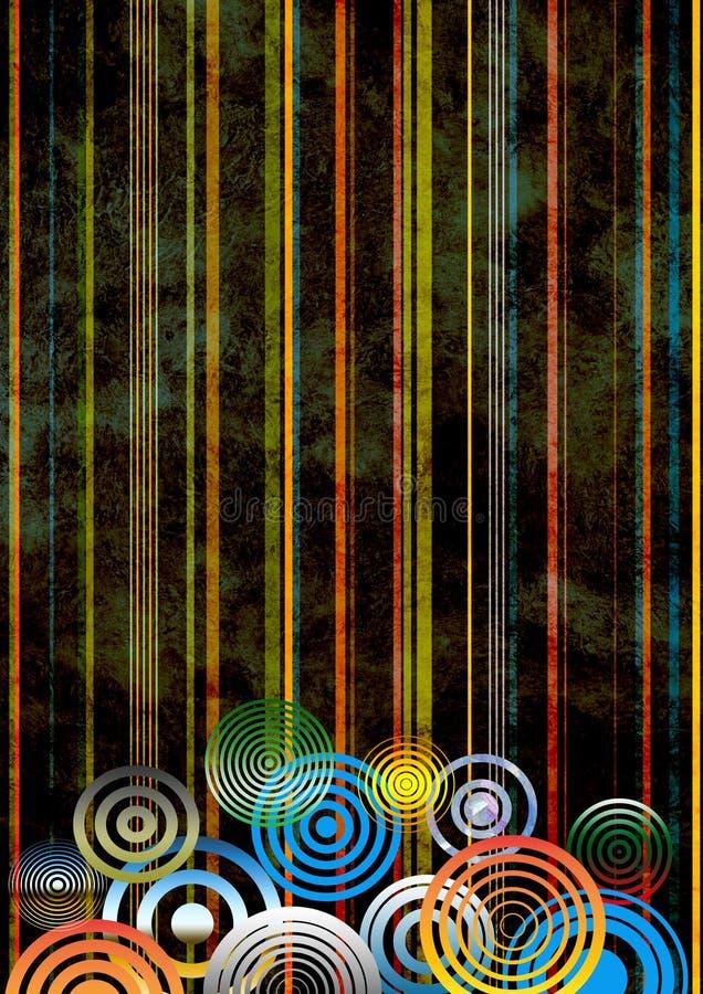 dekoracyjny tła grunge obrazy royalty free