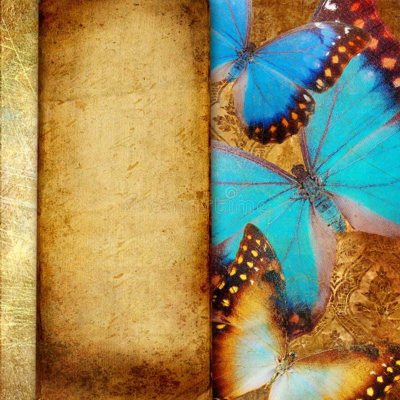 dekoracyjny tło rocznik royalty ilustracja