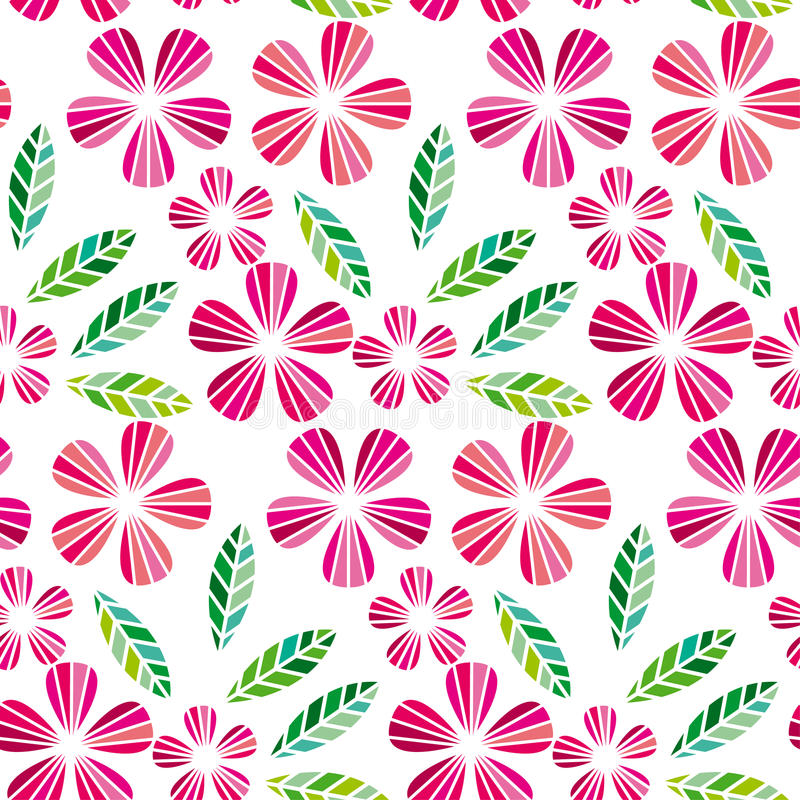 Dekoracyjny urlopu i kwiatu projekta element ilustracji
