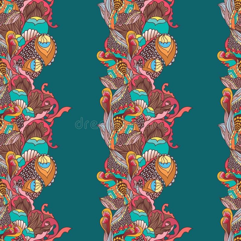 Download Dekoracyjny wzór ilustracja wektor. Ilustracja złożonej z oryginał - 41953836