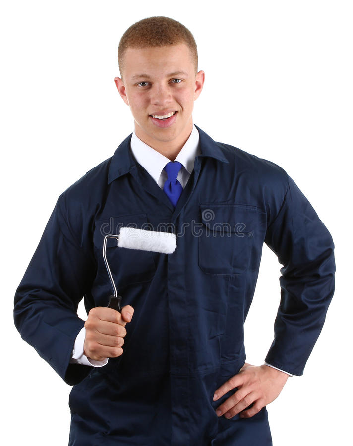 Dekorateur stockfoto