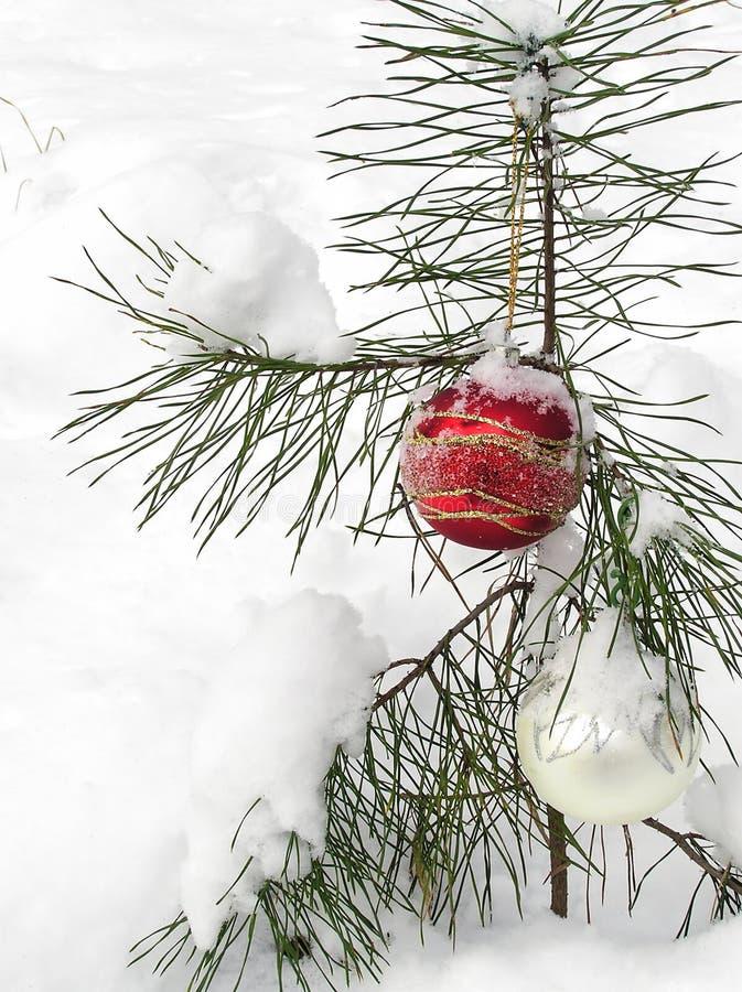 Dekoration de la Navidad foto de archivo