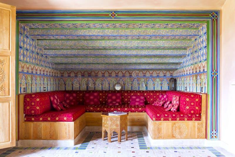 Dekoration der arabischen Art des Salons, lizenzfreie stockfotos