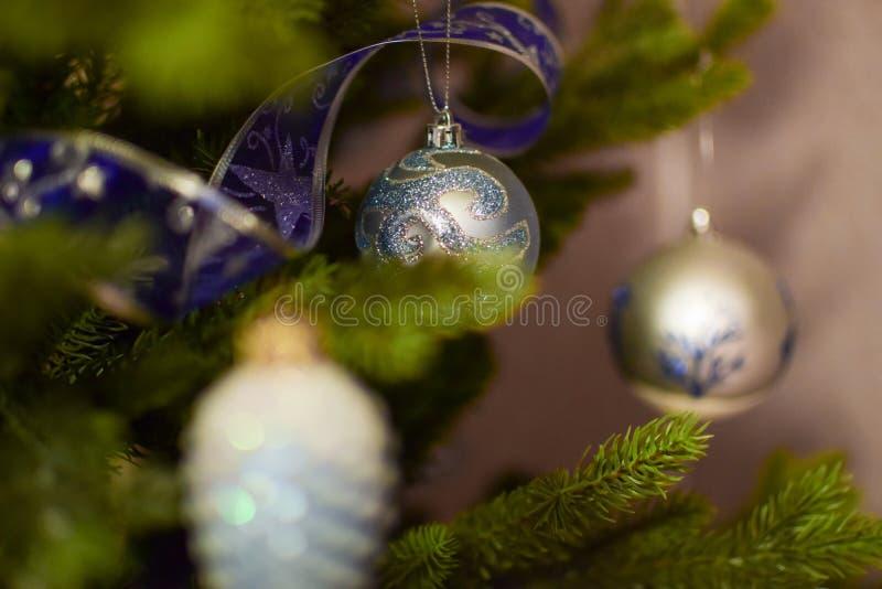 Dekoration des Weihnachtsbaums lizenzfreies stockbild