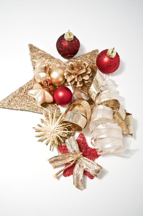 Dekoration für Weihnachten lizenzfreie stockfotos