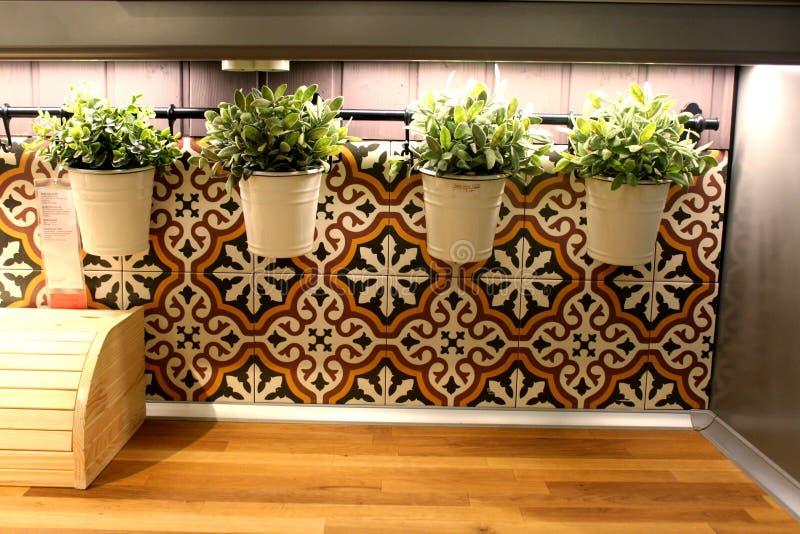 Dekoration an Ihrem Haus stockbild