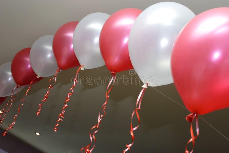 Dekoration mit baloons lizenzfreie stockfotos