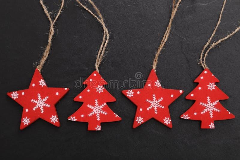 Dekorationen für den Weihnachtsbaum lizenzfreie stockfotos