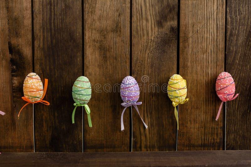 Dekorationen für Ostern-Feiertag stockfotografie