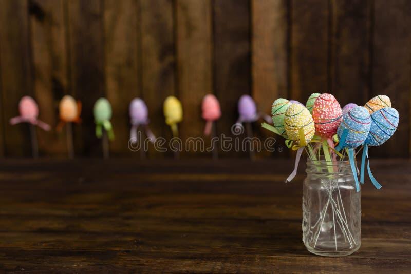 Dekorationen für Ostern-Feiertag lizenzfreie stockbilder