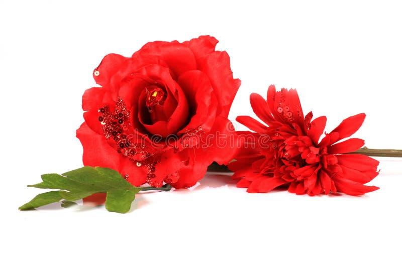 Dekorationsblumen stockbild
