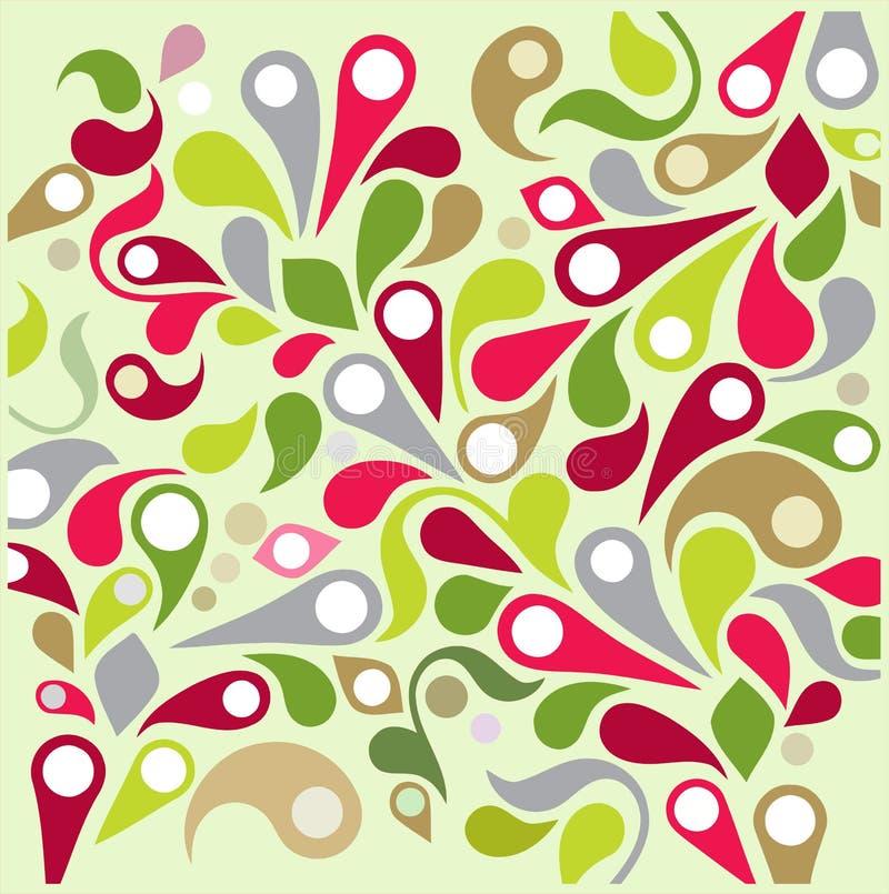 Dekorativ bakgrund för vektor vektor illustrationer