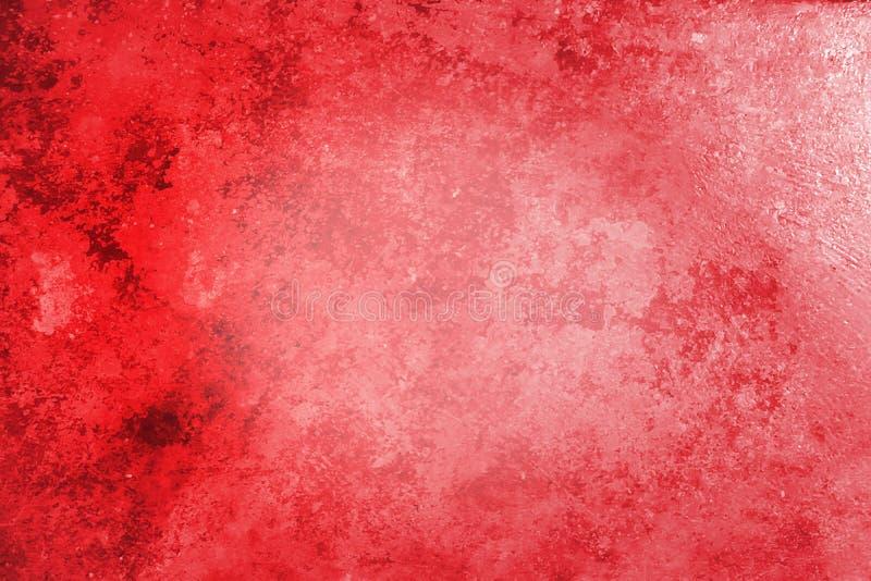 Dekorativ blå mörk stuckaturvägg B för härlig röd abstrakt Grunge royaltyfri fotografi