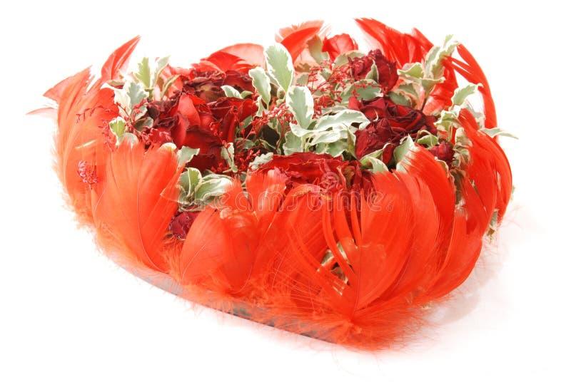dekorativ blomma för sammansättning royaltyfria foton