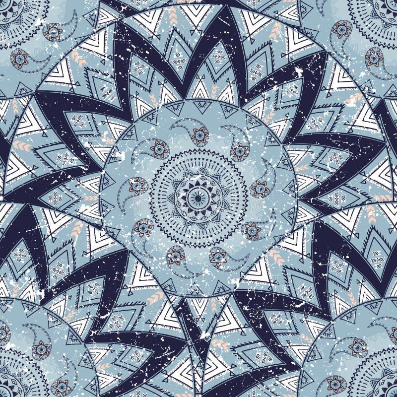 Dekorativ cirkelmodell royaltyfria bilder