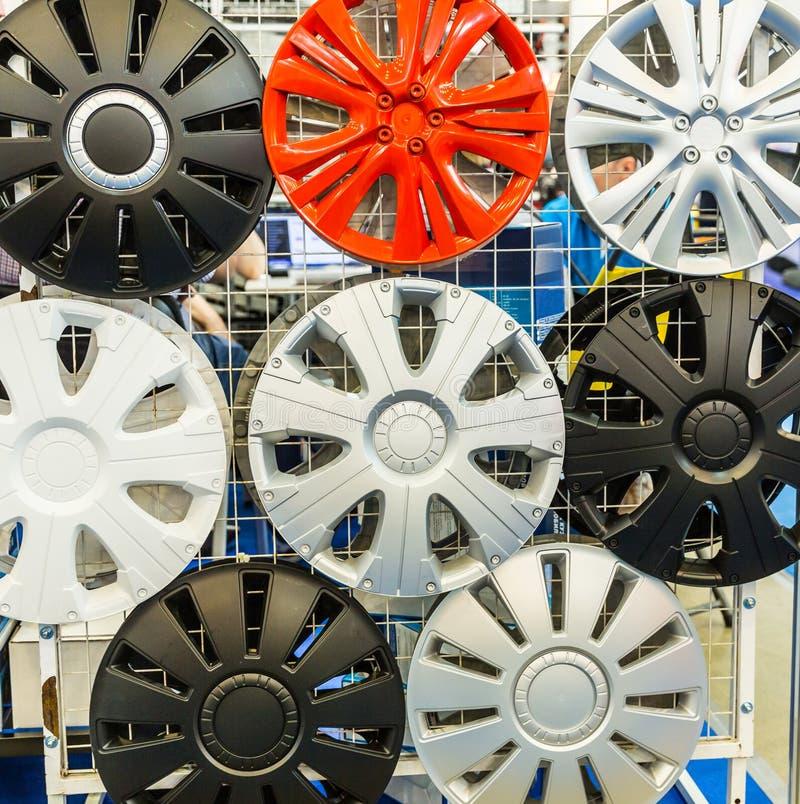 Dekorativ closeup för hjulräkningar, auto trimma royaltyfri fotografi