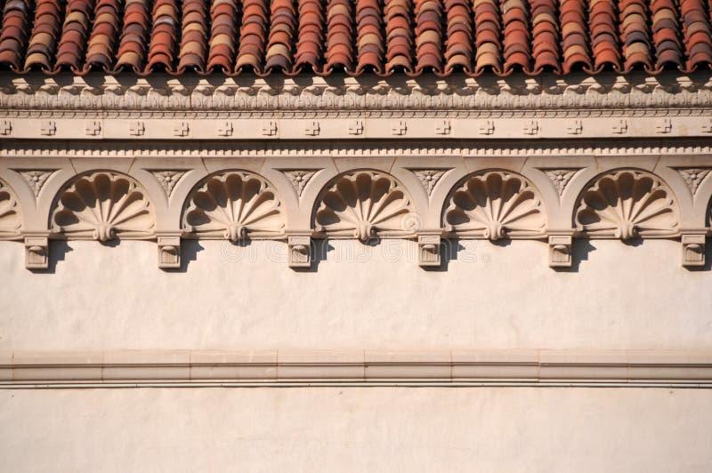 dekorativ cornice arkivfoton