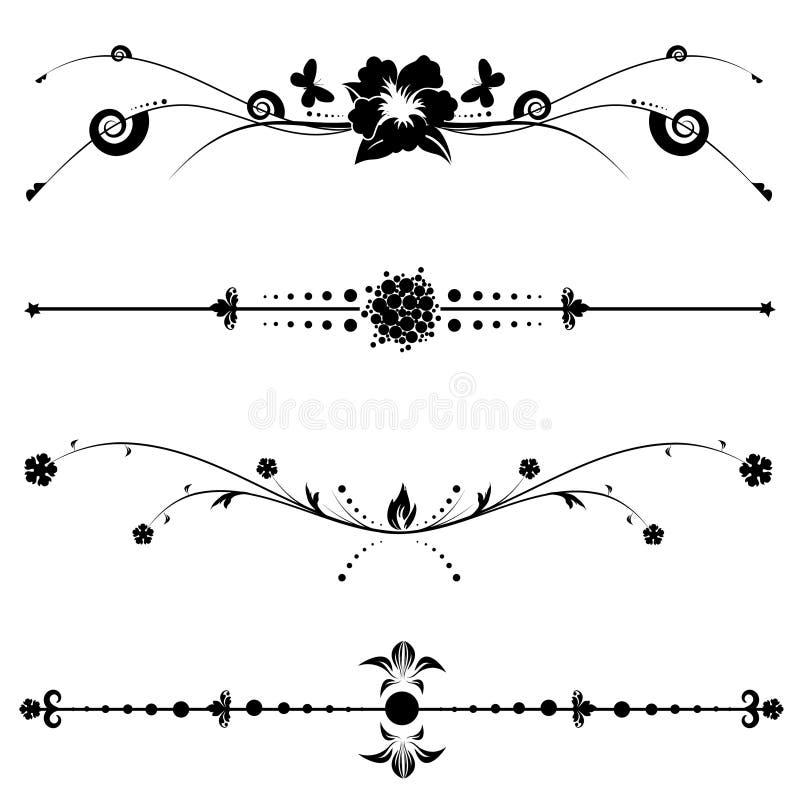 Dekorativ Designtappning Royaltyfri Bild