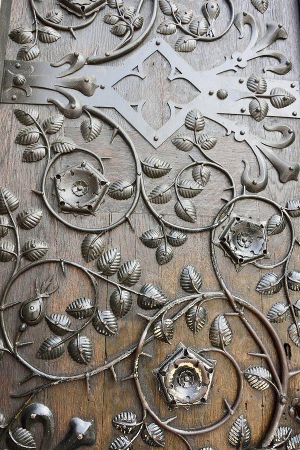 dekorativ ironwork royaltyfri foto