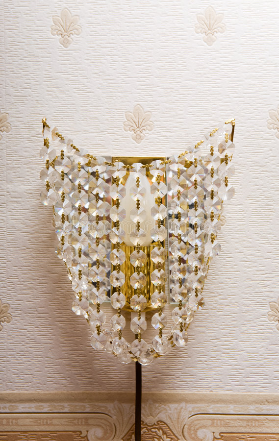 dekorativ lampa royaltyfri bild