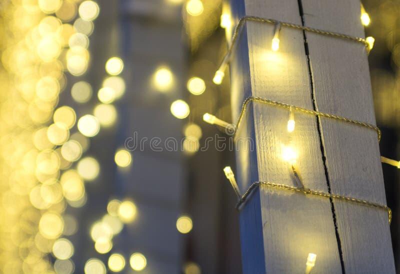 dekorativ lighting arkivbilder
