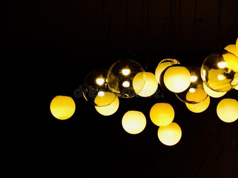dekorativ lighting royaltyfria bilder