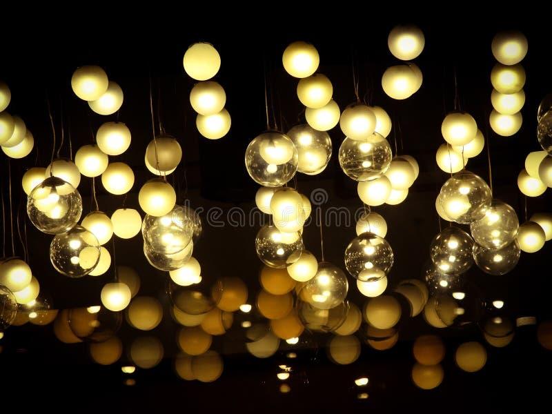 dekorativ lighting fotografering för bildbyråer