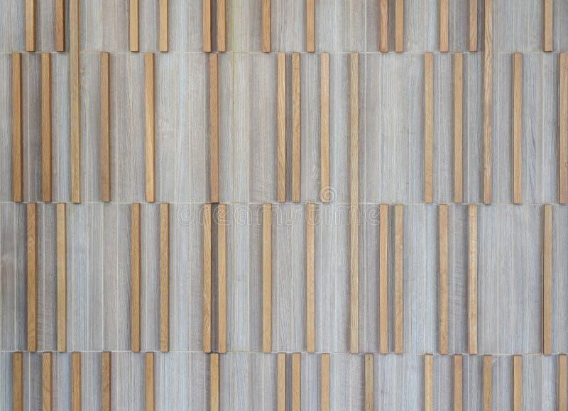 Dekorativ ljus modell för panel för timmerdesignvägg royaltyfri foto