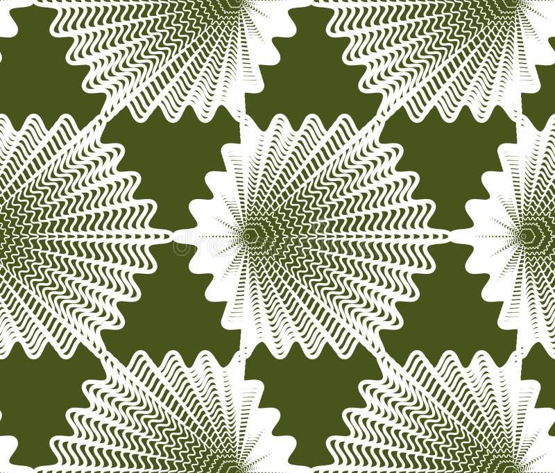 Dekorativ modell för färgrik vektor, sömlös konstbakgrundsdeco royaltyfri illustrationer