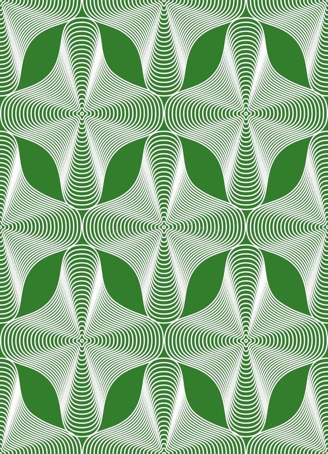 Dekorativ modell för färgrik vektor, sömlös konstbakgrundsdeco stock illustrationer