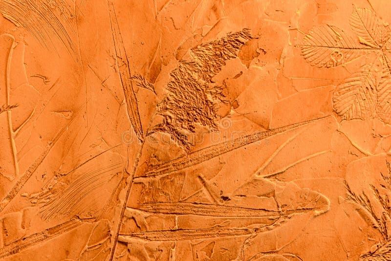 Dekorativ murbruk för textur royaltyfria bilder