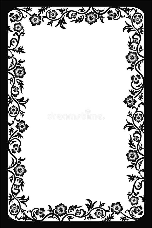 Download Dekorativ ramvektor vektor illustrationer. Illustration av dekor - 503156