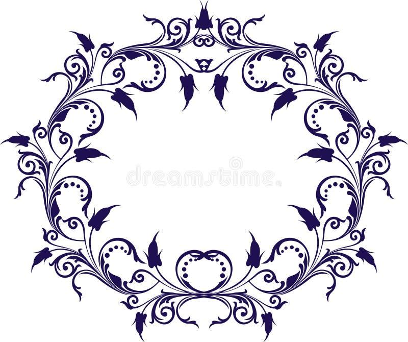 Download Dekorativ ramvektor vektor illustrationer. Illustration av antikviteten - 519798