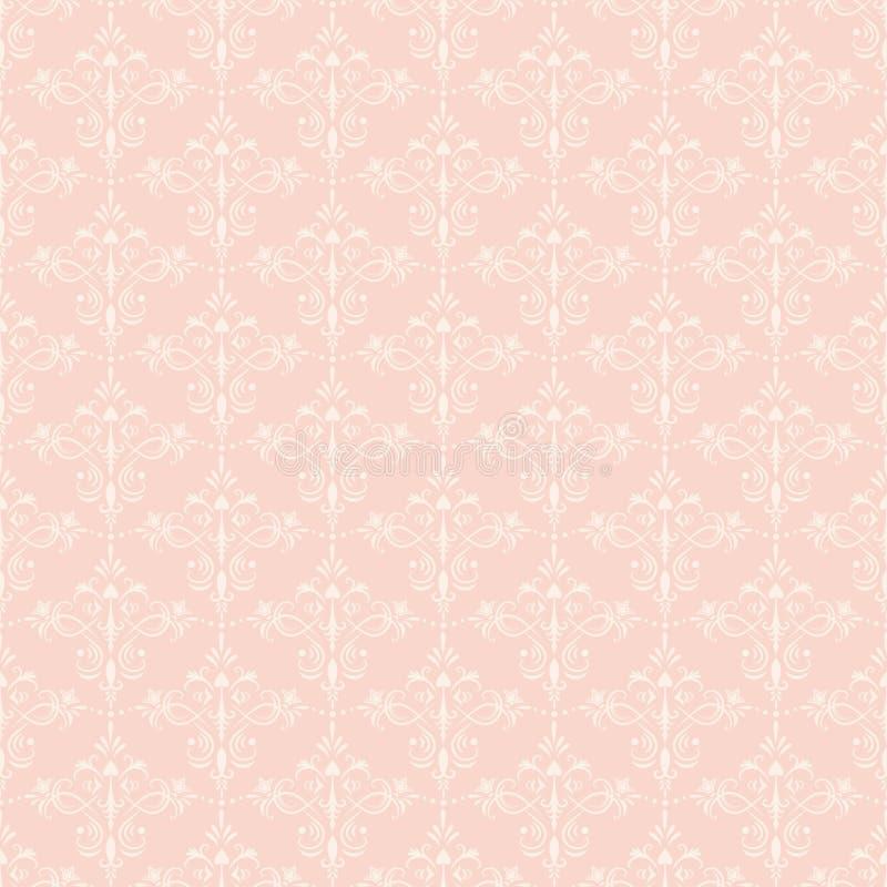 dekorativ seamless wallpaper royaltyfri illustrationer
