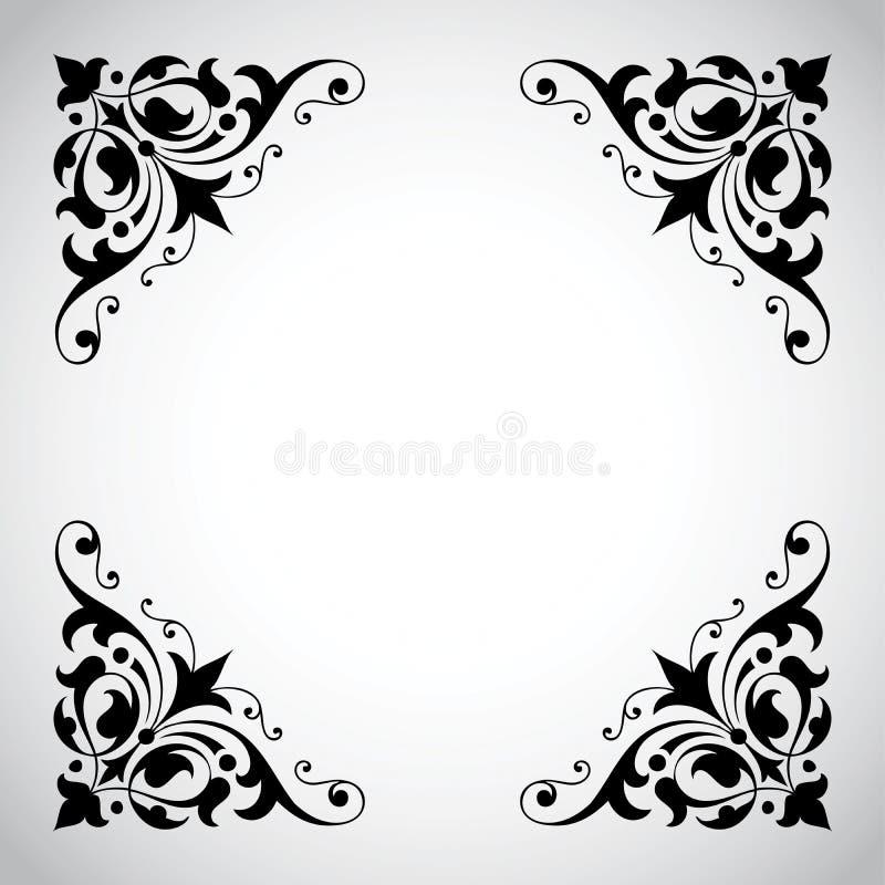 Dekorativ Serietappning För Ram Fotografering för Bildbyråer