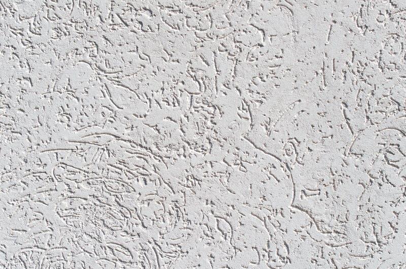 Dekorativ textur av skällskalbaggen göras av special spackel fotografering för bildbyråer