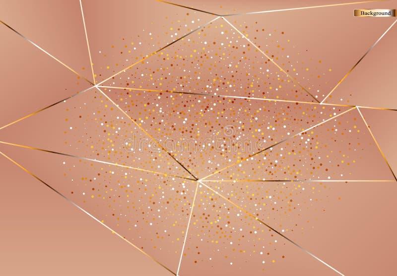 Dekorativ vektormodell Bakgrund f?r utskrift, design av kort, yttersidor, r?kningar och annan royaltyfri illustrationer