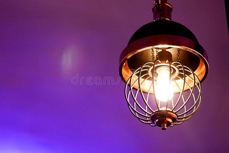 Dekorativa lampor för hem- garnering royaltyfri fotografi